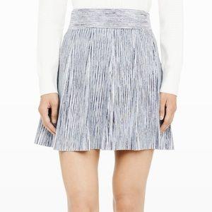 Club Monaco Flare Mini Skirt
